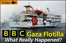 BBC Gaza Flotilla - Panorama