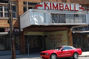 Ye Old Kimball Movie Theater By Flickr